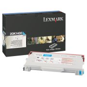 Lexmark 20K1400 High Capacity Cyan Laser Toner Cartridge