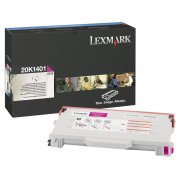 Lexmark 20K1401 High Capacity Magenta Laser Toner Cartridge