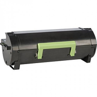 Compatible Lexmark Lexmark 521H ( 52D1H00 ) Black Laser Toner Cartridge (Made in North America; TAA Compliant)