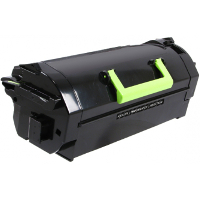 Compatible Lexmark Lexmark 621H ( 62D1H00 ) Black Laser Toner Cartridge (Made in North America; TAA Compliant)