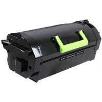 Compatible Lexmark Lexmark 621X ( 62D1X00 ) Black Laser Toner Cartridge (Made in North America; TAA Compliant)