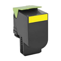 Compatible Lexmark 701HY ( 70C1HY0 ) Yellow Laser Toner Cartridge