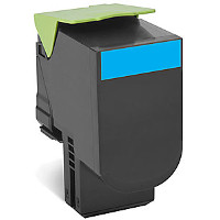 Compatible Lexmark Lexmark 701XC ( 70C1XC0 ) Cyan Laser Toner Cartridge (Made in North America; TAA Compliant)