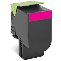 Compatible Lexmark Lexmark 701XM ( 70C1XM0 ) Magenta Laser Toner Cartridge (Made in North America; TAA Compliant)