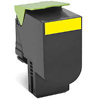 Compatible Lexmark Lexmark 701XY ( 70C1XY0 ) Yellow Laser Toner Cartridge (Made in North America; TAA Compliant)