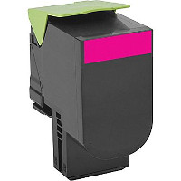 Compatible Lexmark 80C1HM0 Magenta Laser Toner Cartridge (Made in North America; TAA Compliant)
