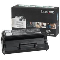 Lexmark 08A0476 Black Prebate Laser Toner Cartridge