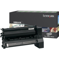 Lexmark 10B041K Black PREBATE Laser Toner Cartridge
