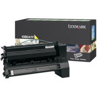 Lexmark 10B041Y Yellow PREBATE Laser Toner Cartridge