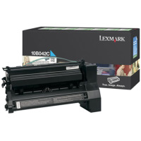 Lexmark 10B042C High Yield Cyan PREBATE Laser Toner Cartridge