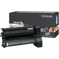Lexmark 10B042Y High Yield Yellow PREBATE Laser Toner Cartridge