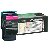 Lexmark C540A1MG Laser Toner Cartridge