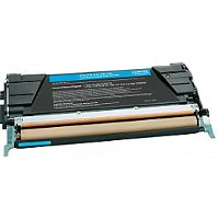 Compatible Lexmark C734A1CG Cyan Laser Toner Cartridge (Made in North America; TAA Compliant)