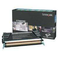 Lexmark C734A1KG Laser Toner Cartridge