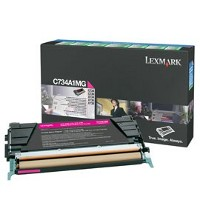 Lexmark C734A1MG Laser Toner Cartridge