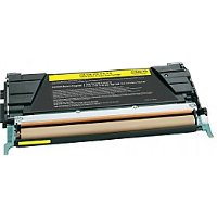 Compatible Lexmark C734A1YG Yellow Laser Toner Cartridge (Made in North America; TAA Compliant)