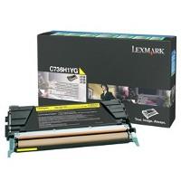 Lexmark C736H1YG Laser Toner Cartridge