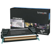 Lexmark C736H2KG Laser Toner Cartridge