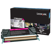 Lexmark C746A2MG Laser Toner Cartridge