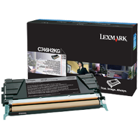 OEM Lexmark C746H2KG Black Laser Toner Cartridge
