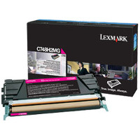 Lexmark C748H2MG Laser Toner Cartridge