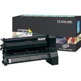 Lexmark C7700YH Laser Toner Cartridge