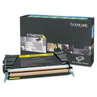 Lexmark X746A1YG Laser Toner Cartridge