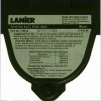 Lanier 117-0164 Black Laser Toner Cartridge