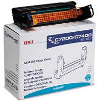 Okidata 41304107 Cyan Printer Drum
