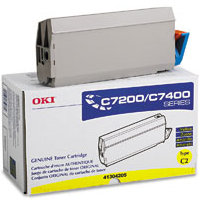 Okidata 41304205 Yellow Laser Toner Cartridge