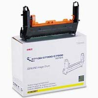 Okidata 41962801 Yellow Printer Drum