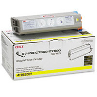 Okidata 41963001 Yellow Laser Toner Cartridge