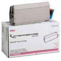 Okidata 41963002 Magenta Laser Toner Cartridge