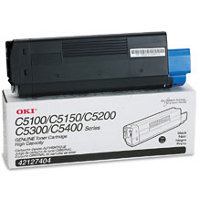 Okidata 42127404 Black Laser Toner Cartridge