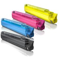 Okidata 42918901 / 42918902 / 42918903 / 42918904 Compatible Laser Toner Cartridge Set