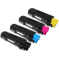 Compatible Okidata 43034801 / 43034802 / 43034803 / 43034804 Laser Toner Cartridge MultiPack