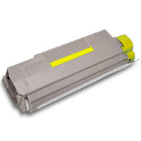 Compatible Okidata 43324417 ( 43865717 ) Yellow Laser Toner Cartridge