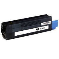 Compatible Okidata 43324469 Black Laser Toner Cartridge