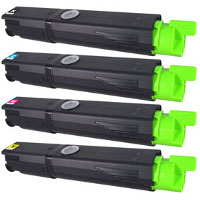 Okidata 43459301 / 43459302 / 43459303 / 43459304 Compatible Laser Toner Cartridge Set