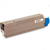 Compatible Okidata 43487733 Yellow Laser Toner Cartridge