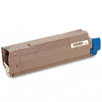 Compatible Okidata 43487735 Cyan Laser Toner Cartridge