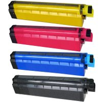 Compatible Okidata 43487733 / 43487734 / 43487735 / 43487736 Laser Toner Cartridge MultiPack