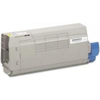 Compatible Okidata 43866101 Yellow Laser Toner Cartridge