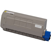 Compatible Okidata 44318601 Yellow Laser Toner Cartridge