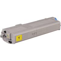 Compatible Okidata 46490601 Yellow Laser Toner Cartridge