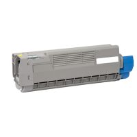 Compatible Okidata 46507501 Yellow Laser Toner Cartridge