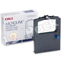 Okidata 52104001 Black Fabric Printer Ribbons (12/Pack)