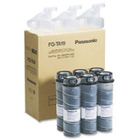 Panasonic FQTA19 Black Laser Toner Bottles (6/Pack)