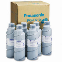 Panasonic FQTK10 Black Laser Toner Bottles (6/Pack)