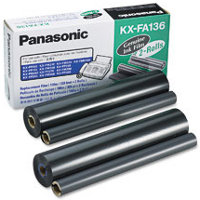 Panasonic KX-FA136 ( Panasonic KXFA136 ) Thermal Transfer Refill Ribbons (2/Box)